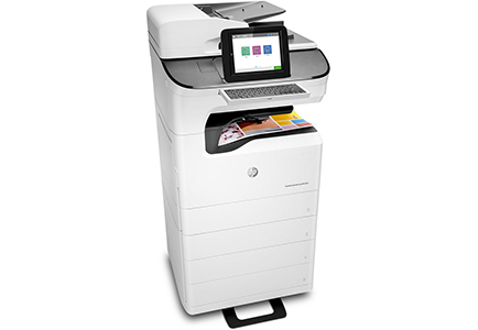 HP PageWide Managed Color MFP E77650